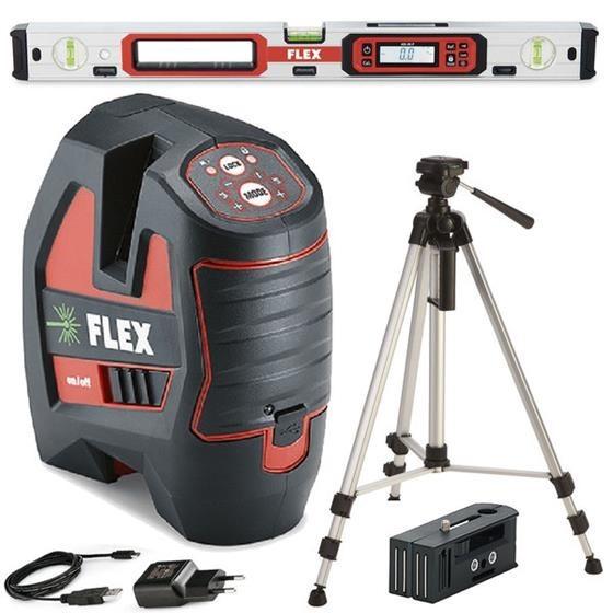 FLEX selbstnivellierender Kreuzlinienlaser ALC 3/1-G