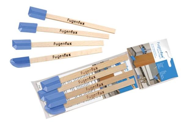 Fugenfux Fugenabzieher hellblau 4er Set