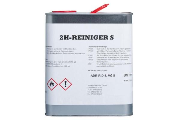 2H Reiniger S 3 Liter - Ethanol